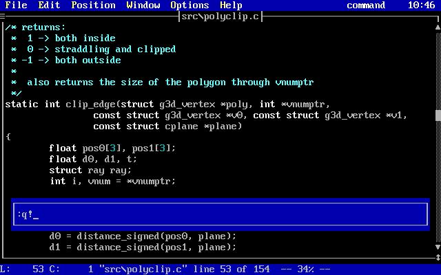 DOS retrocoding 01 - setting up