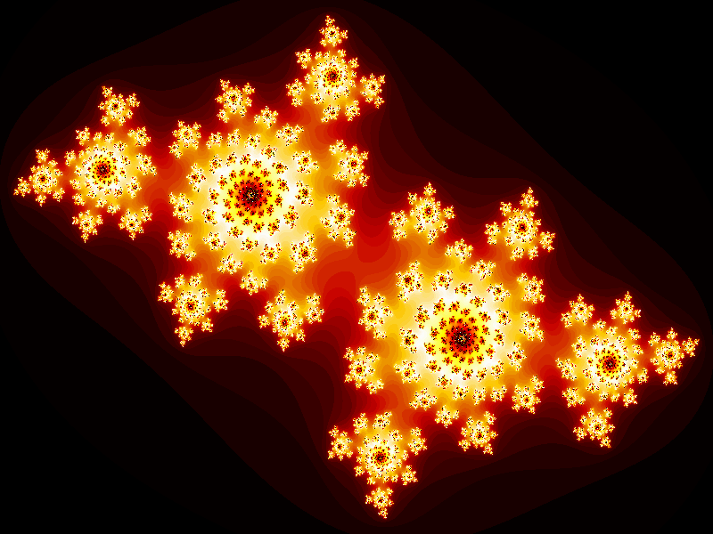 Fast and easy high resolution fractals with a pixel shader