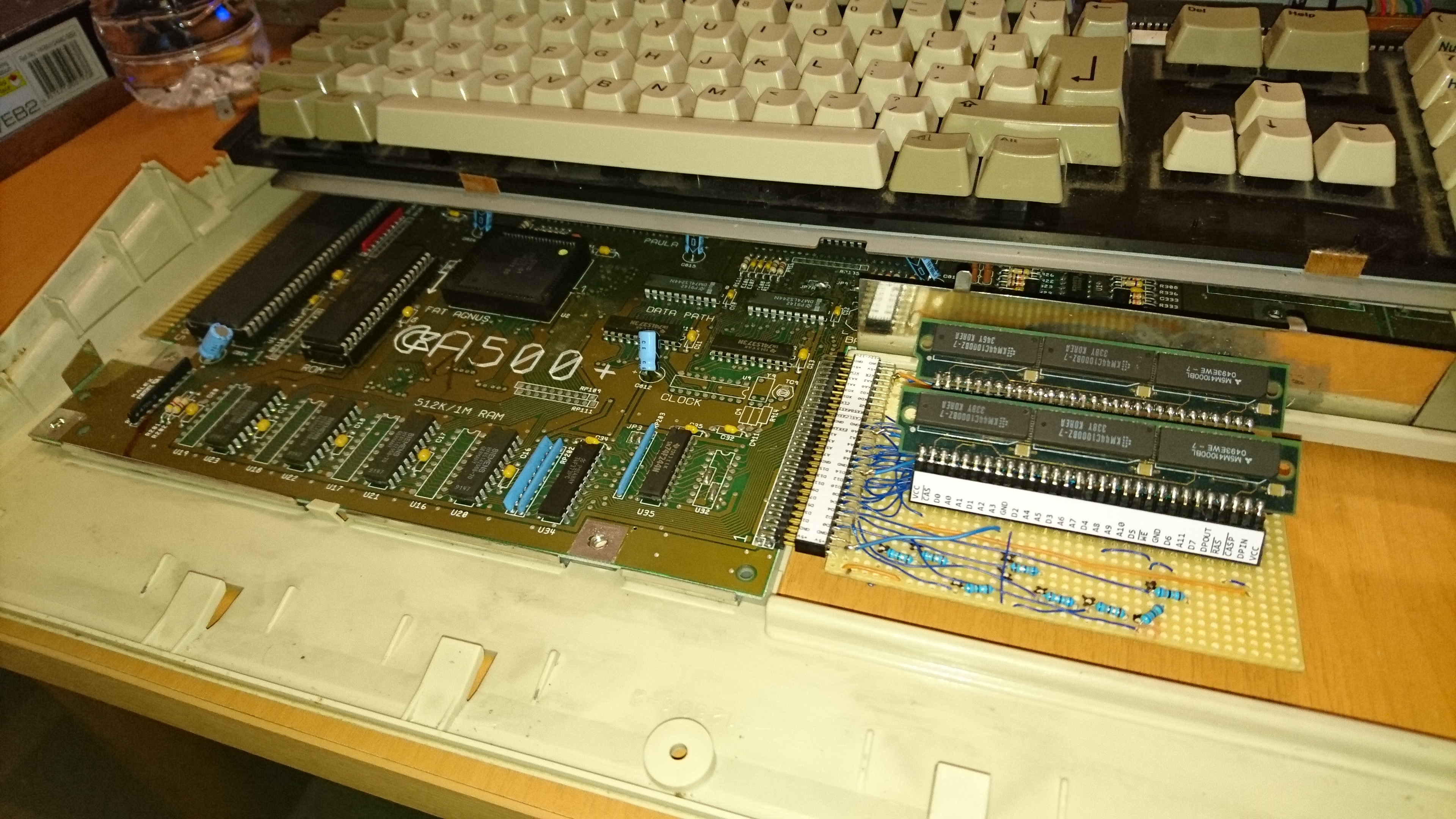 30pin simm ram expansion for the amiga a500  introducing the re amiga 1200 john