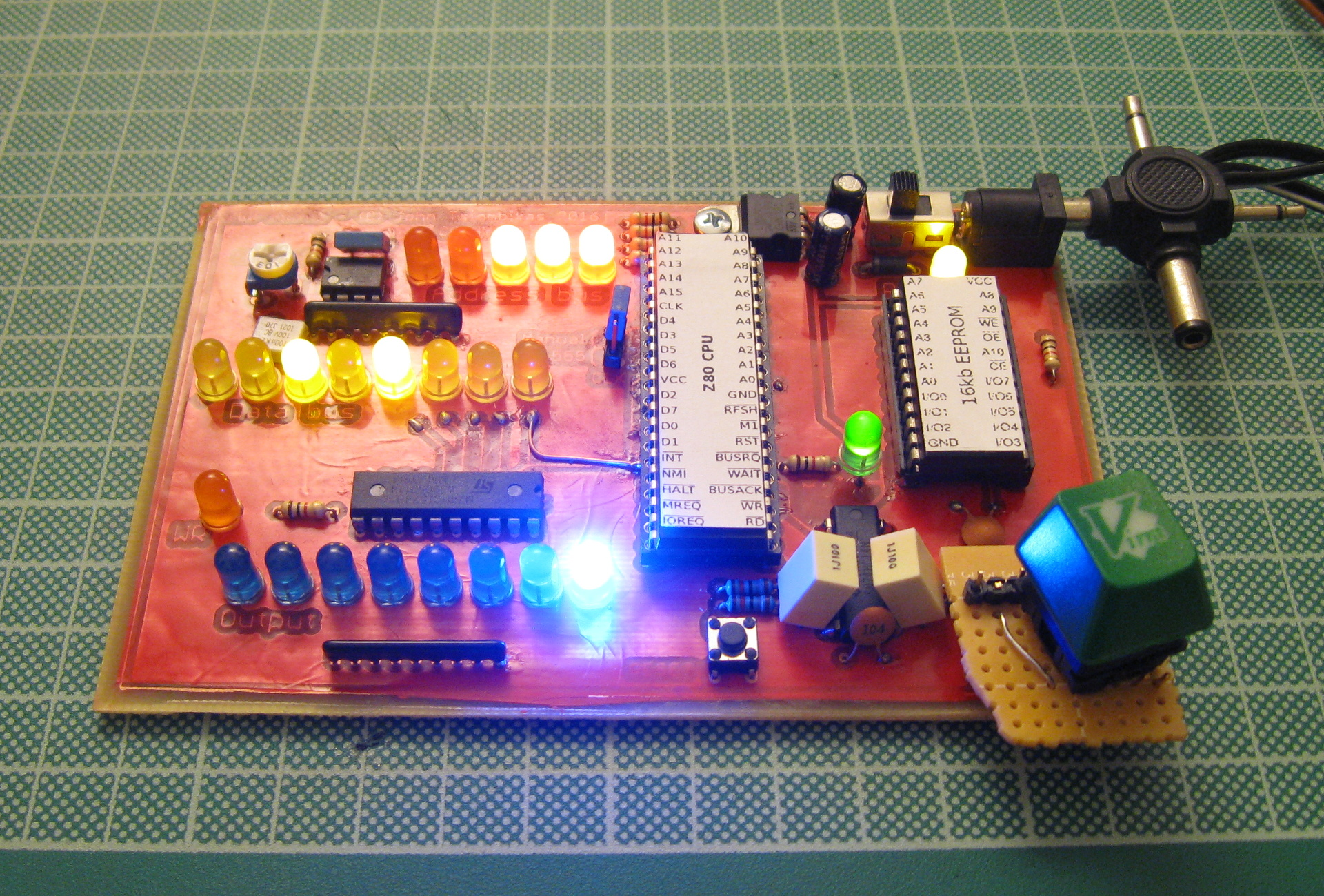 Homebrew 8-bit micro-computer project