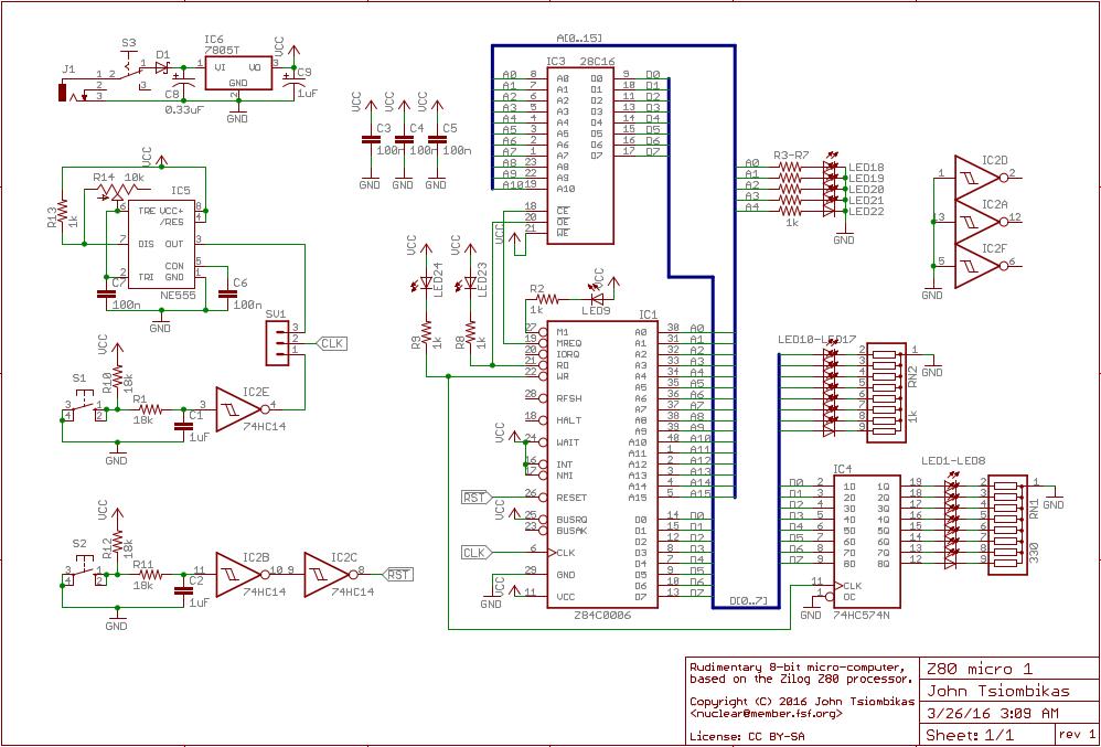 Pleasing Homebrew 8 Bit Micro Computer Project Wiring 101 Photwellnesstrialsorg